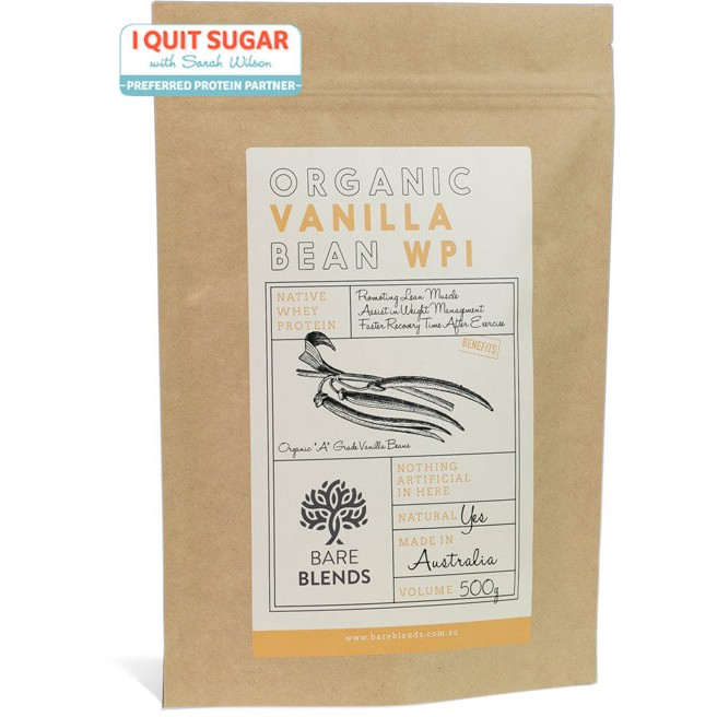 Organic Vanilla Bean Native WPI