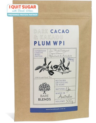 Dark Cacao and Kakadu Plum Native Whey Protein Isolate