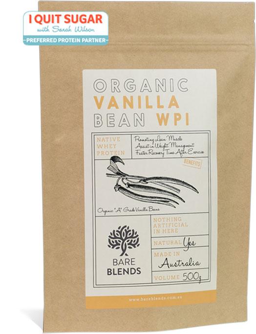 organic vanilla bean wpi